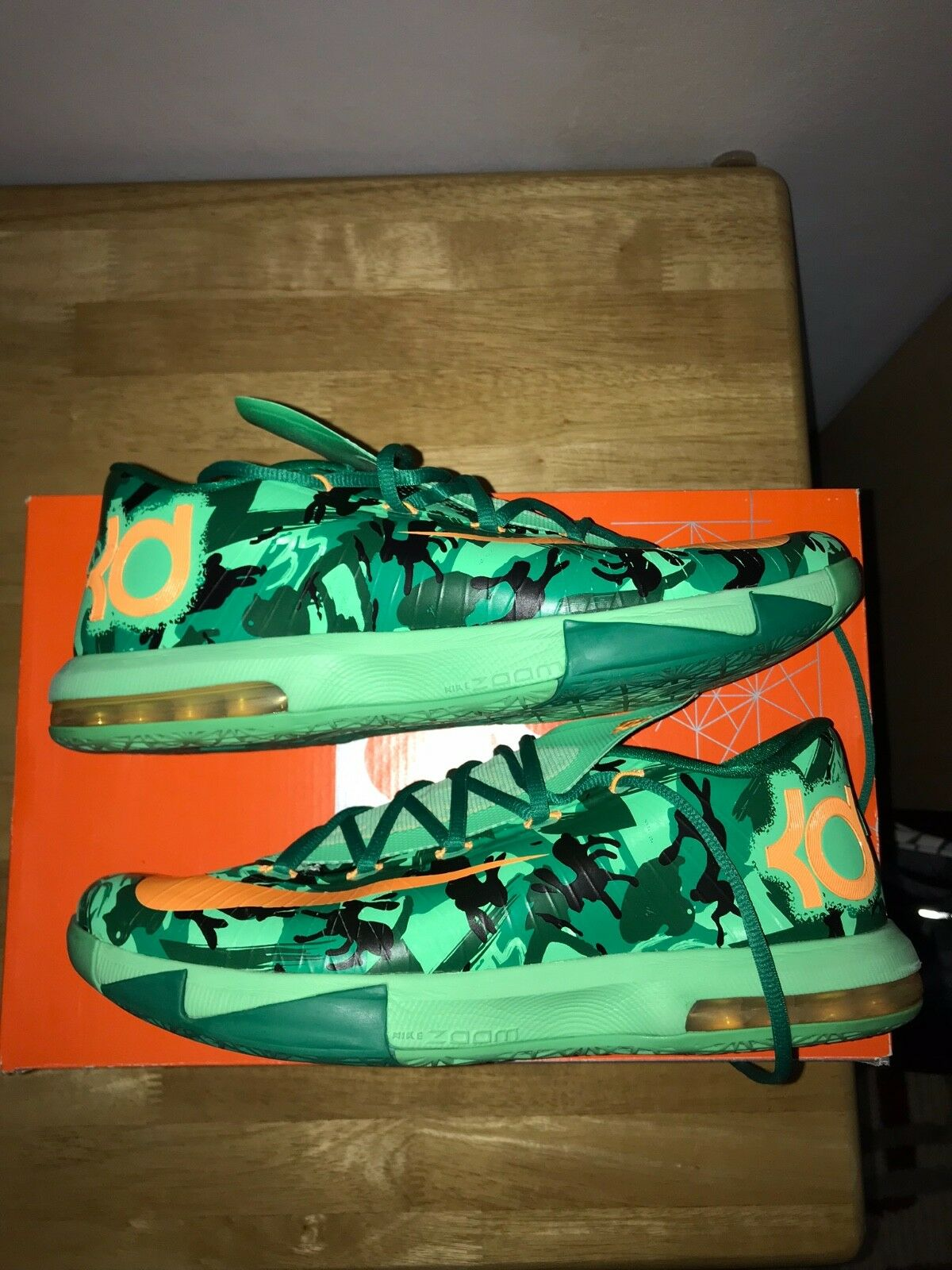 Nike KD 6 IV Easter Pre-Owned Size 11