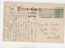 Miss Flo Charles Myrtle Cottage The Wong Horncastle 1909 398b