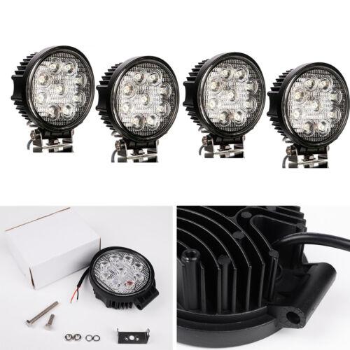 12V 24V LED Work Light Bar Flood Spot Lights Driving Lamp Offroad Car Truck SUV