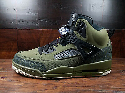 AIR JORDAN SPIZIKE [315371 300] FLIGHT JACKET (Olive CanvasConeBlack) MENS | eBay