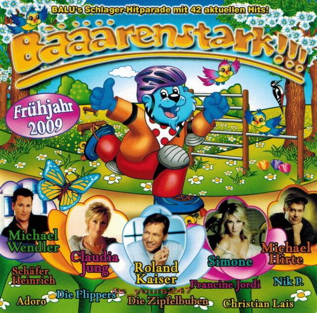 Bääärenstark!!! Frühjahr 2009 Schlagerhitparade mit 42 aktuellen Hits | 2-CD-Set