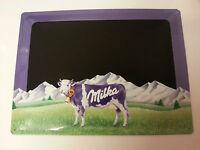 Tole Milka Plaque Relief Ardoise 30 X 40 Cm