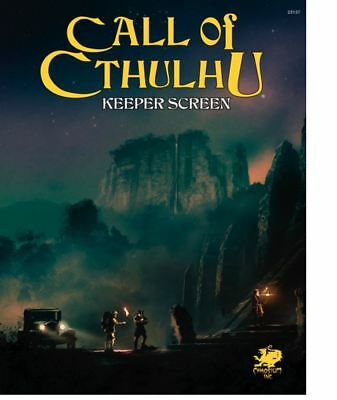 Call Of Cthulhu 7 Edition Rpg - Keepers Schermo Confezione