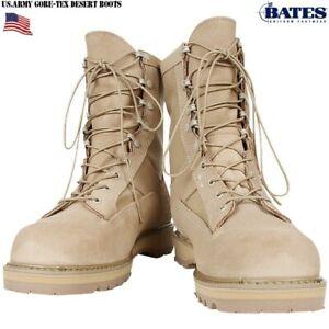 Bates Boots Desert Goretex - Military Combat Boots - Men's Size 15 Regular