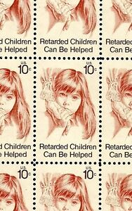Image Is Loading 1974 RETARDED CHILDREN 1549 Full Mint MNH Sheet