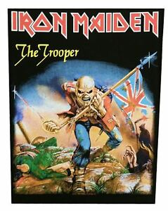 Iron Maiden Fear Of The Dark Live Sew On Clothing Patch Badge Fan 100/% Official