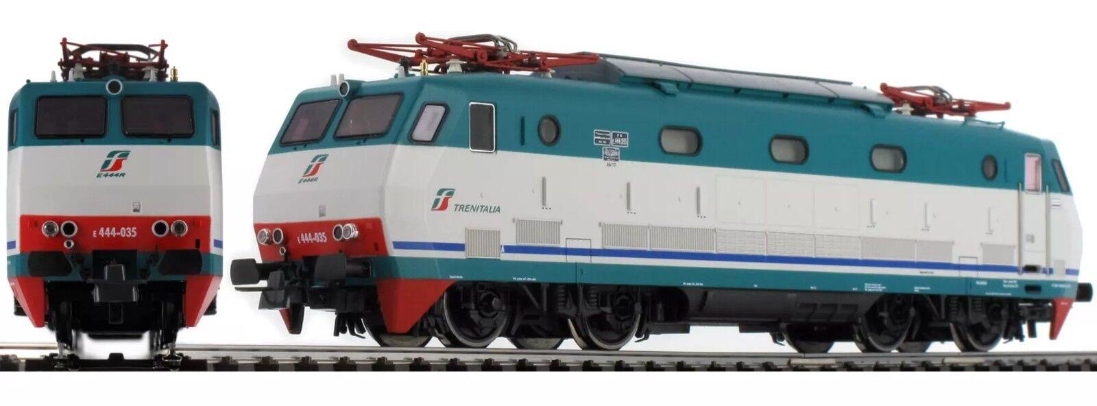 Roco 73349 E444-035 XMPR2 logo Trenitalia green red, FS, DCC SOUND