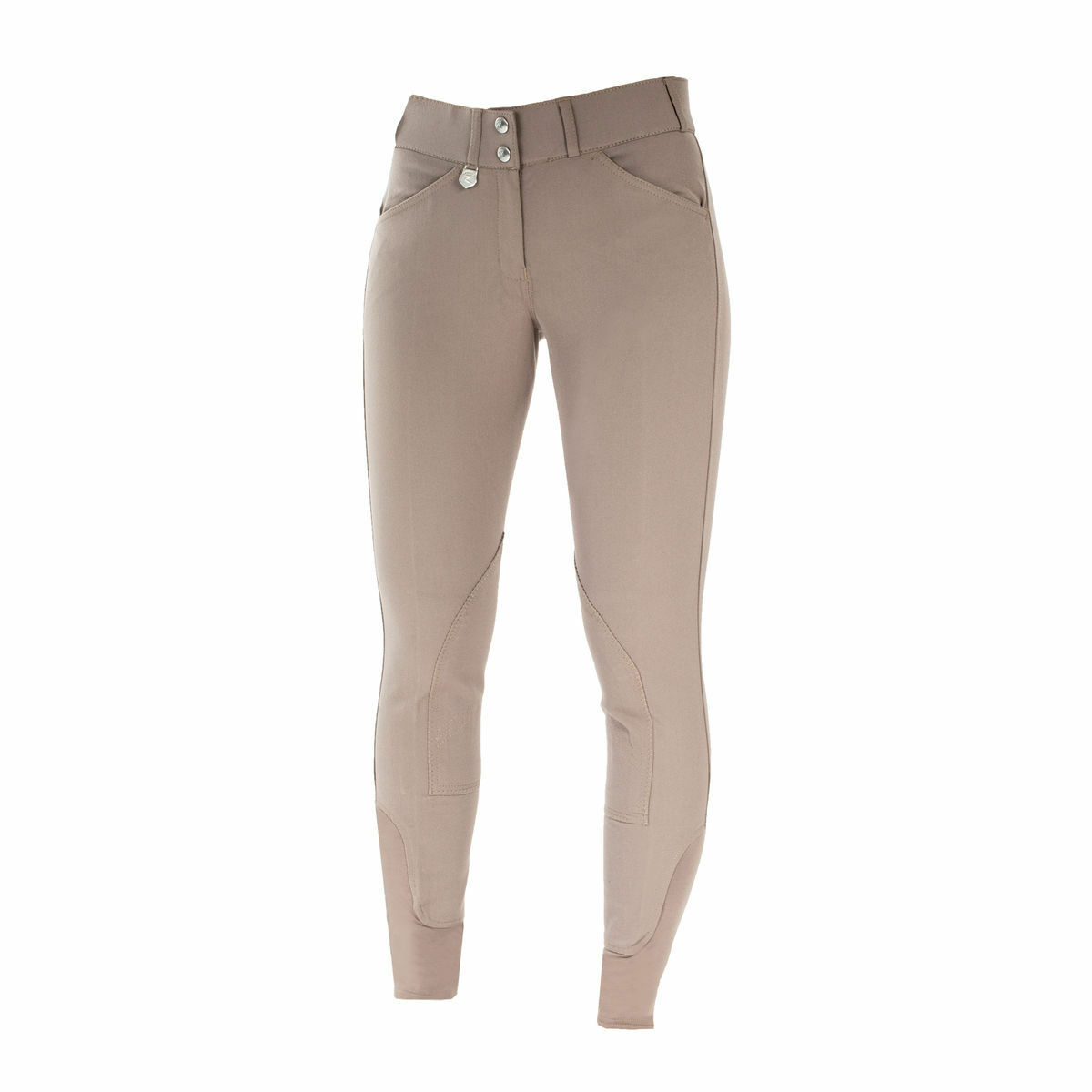 Ladies Horze Grand Prix Dk Tan English  Self Patch Slimming Competition Breeches  gorgeous