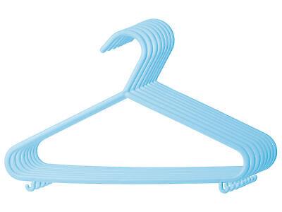 Kinderkleiderbügel 16x Eisblau Kleiderbügel Baby Kinder Kleiderbügel Kunststoff