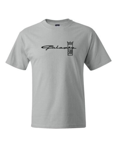 Galaxie 500 Crown Logo Classic Car Ford Vintage T shirts S-5XL