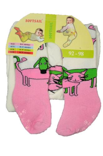 Baby Strumphose Jungen und Mädchen Thermo Strumpfhose mit ABC-Noppen