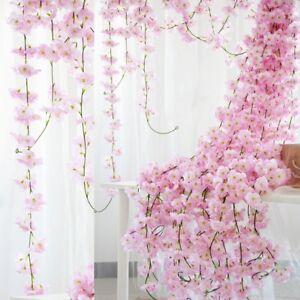 2M-Sakura-Rattan-Garland-Wedding-Decorative-Vine-Wall-Hanging-Arch-Home-Decor