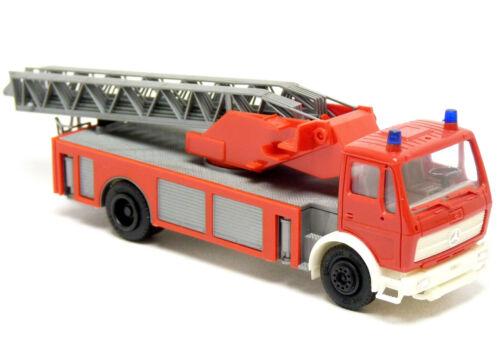 Herpa 806502 Mercedes MB ng bomberos DLK 23 se escalera giratoria rojo neutro 1:87 h0