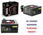 ACE 650W Black ATX Gaming PC PSU Power Supply 120mm Red ** PURCHASE TODAY **