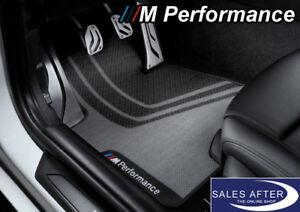 Original-BMW-M-PERFORMANCE-F32-F33-F36-F82-F83-M4-Fussmatten-vorne-Matten