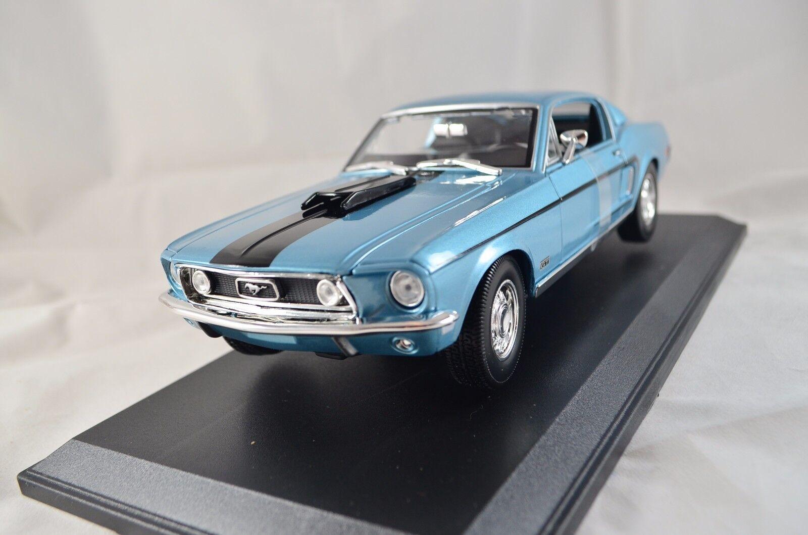 Ford Mustang GT Cobra Jet Mach 1968 1 18 métal, MAISTO Art. 31167