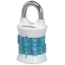 Master Lock 1535dwd Locker Lock Set Your Own Word Combination Padlock 1 Pack