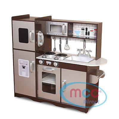 MCC® Large Kids Grey Wooden Play Kitchen,Children\'s Play Pretend & Utensils  Toys | eBay