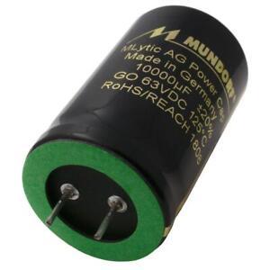2 Stück Elektrolytkondensatoren 10000uF 100V 105°C Capacitor Kondensator DIY