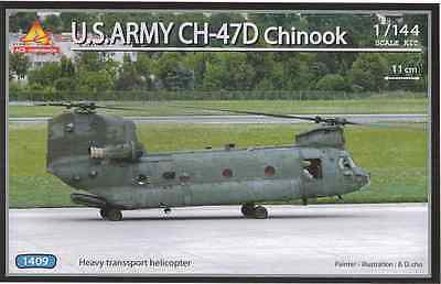 1/144 U.S.ARMY CH-47D CHINOOK  / ACE MODEL KIT / HELICOPTER
