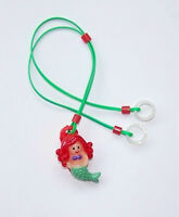 Children's Hearing Aids Retainer Leash Clip For 2 H.a.'s ......mermaid