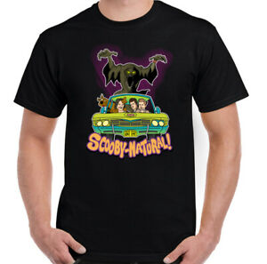 Mens-Supernatural-T-Shirt-Scooby-Doo-Funny-Unisex-Top-Parody