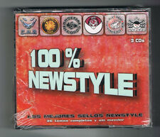 100% NEWSTYLE - LOS MEJORES SELLOS NEWSTYLE - 3 CD SET - 35 TITRES - NEUF NEW