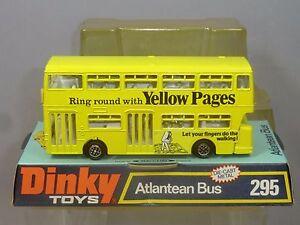 Dinky Toys, modèle n ° 295 de la compagnie de bus Atlantean Dinky Toys Model No.295 Atlantean City Bus