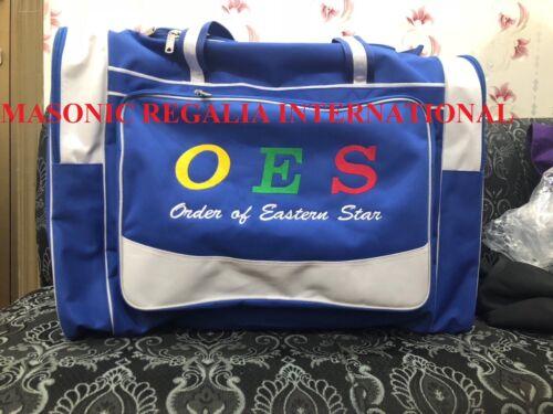 ORDER OF EASTERN STAR DUFFLE BAG TRAVEL DUFFLE BAG NEW MASONIC OES DUFFLE BAGS