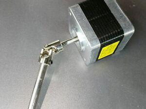 4mm x 6mm flexible shaft joint coupler stepper dc motor for Stepper motor rc car