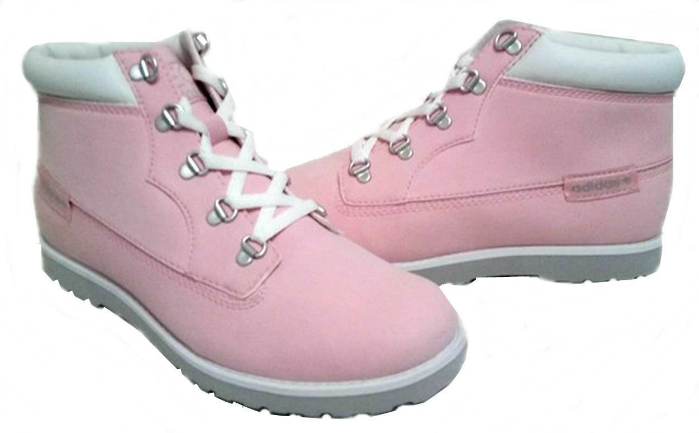 Adidas Womens Seneo Taiga Mid Boot Q26462 Pink UK 3.5,4,4.5,5,5.5,6,6.5,7 New