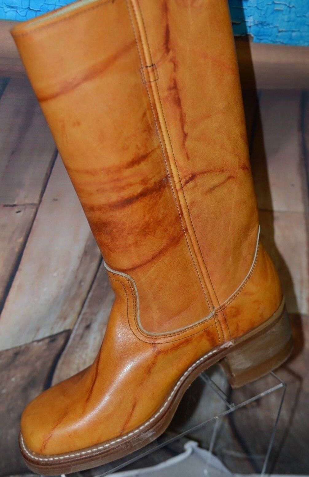 NIB Herman Centennial D Tall Work Stivali Sz 11 D Centennial Tan Vibram Sole 9023 USA Rare West 41f6f6