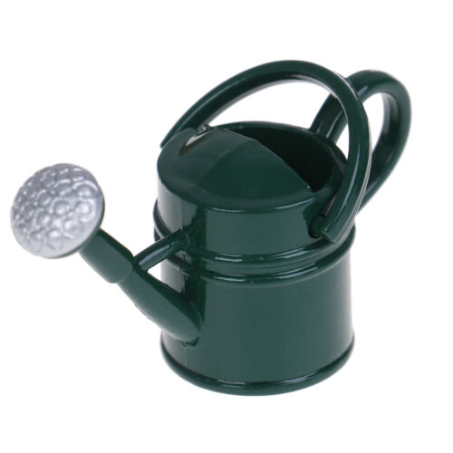 1Pc 1:12 Dollhouse miniature metal watering can model dollhouse accessoriesFBBP