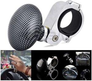ds-Pomello-Maniglia-Spinner-Volante-Assistenza-per-Auto-Barca-Camion-Carbon