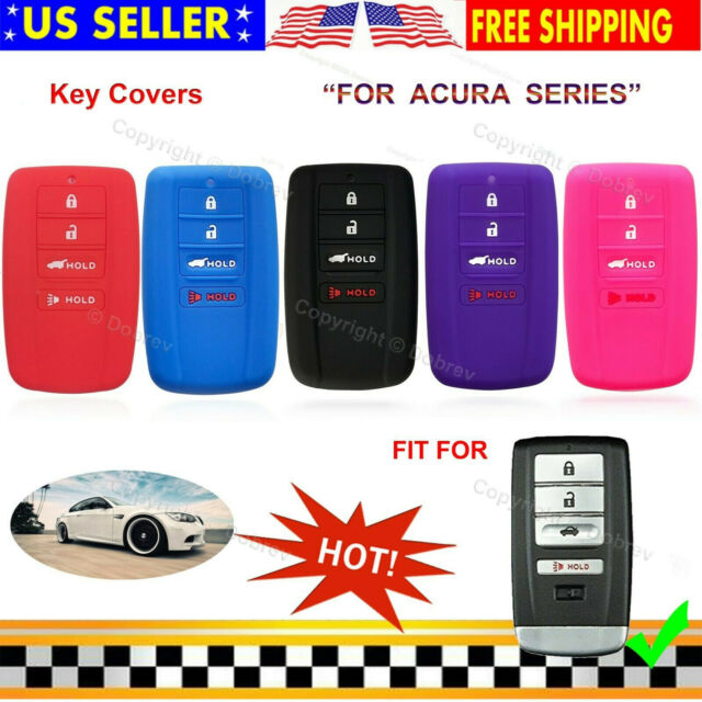 4 Button Replacement Smart Remote Key Shell For Acura MDX