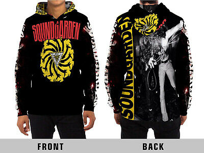 Sound Garden Band Chris Cornell Memory Hoodie Fullprint New Men/'s Zipper Hoodie