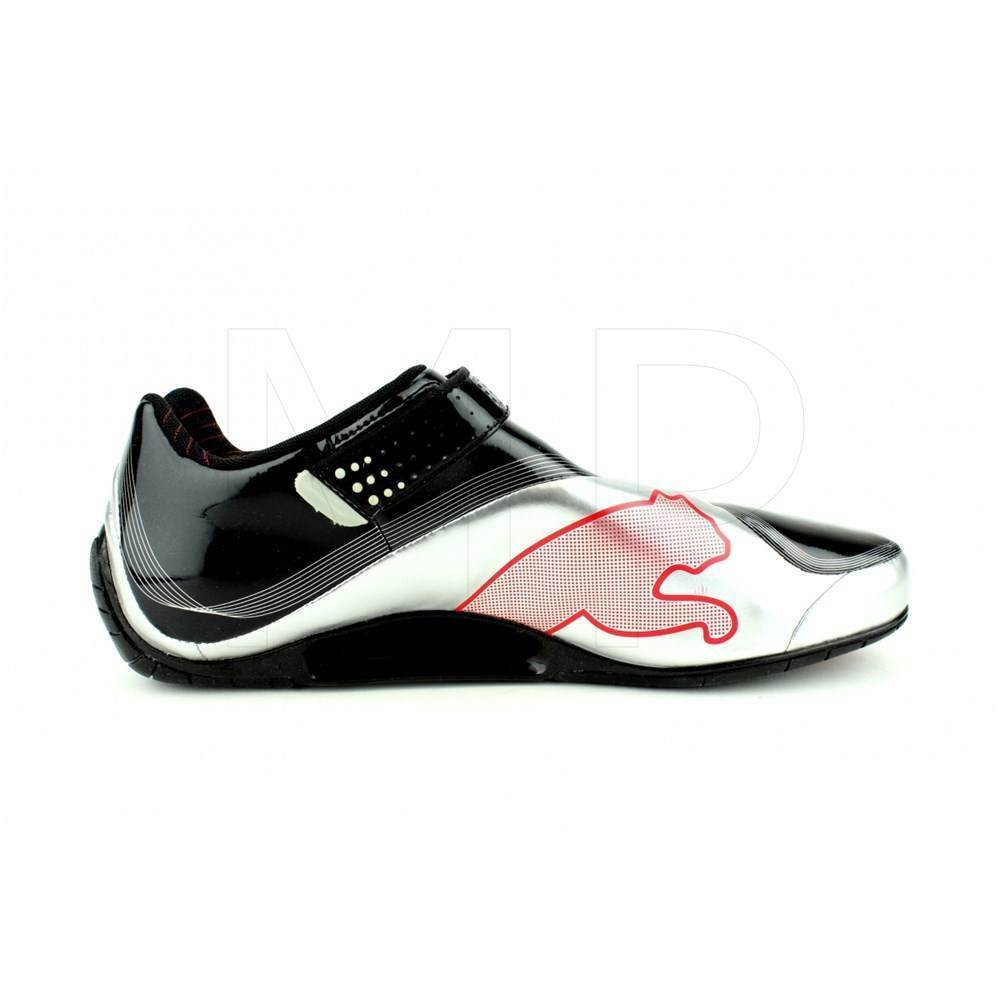 Mens Puma SL Tech SF Trainers  black Silver Silver Silver red corsa uk 6 8ccb50