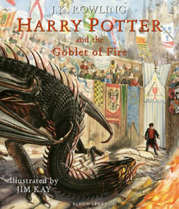 NEW Harry Potter and the Goblet of Fire Illustrated Edition By J.K Rowling