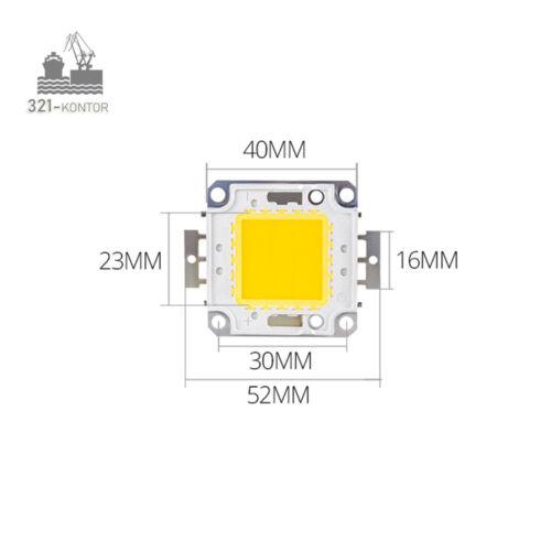WW 5500 LM Alluvione Luce Acquario COB Riflettore 3200k 50 W WATT LED Chip warmweiss