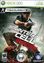 Tom-Clancy-039-s-Splinter-Cell-Conviction-Microsoft-Xbox-360-2010-Boxed-amp-Comple