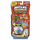 Mutant Mania Round 1 Mix and Match Wrestlers Two Packs Total 8 Figures for 5