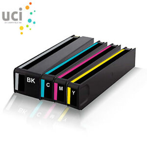4-UCI-Ink-Cartridge-fits-for-HP-913A-PageWide-Pro-452dw-452dwt-477dw-477dwt