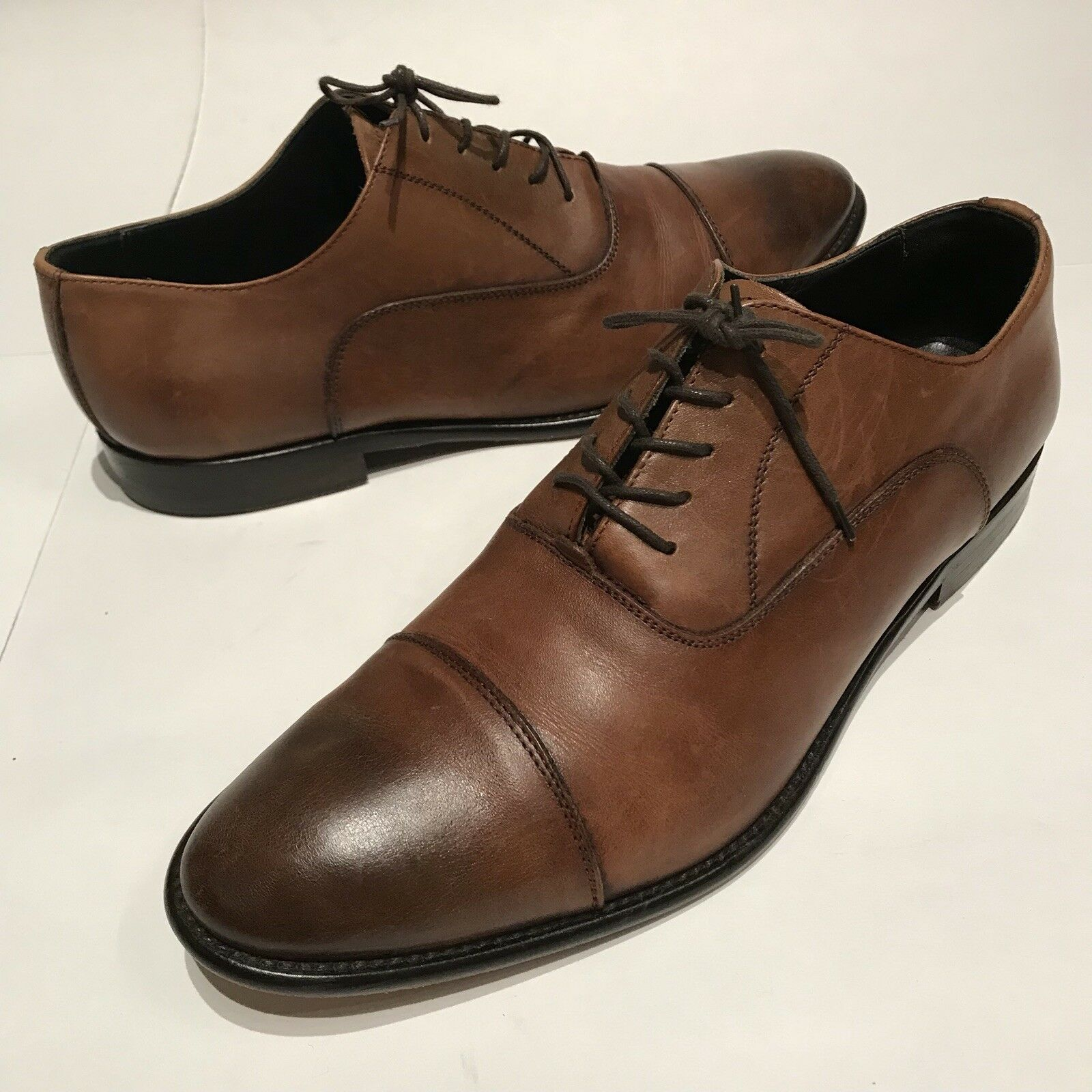 To bottes New York  Brandon 'Cap Toe Oxford, marron, Taille  11.5 m Retail  395