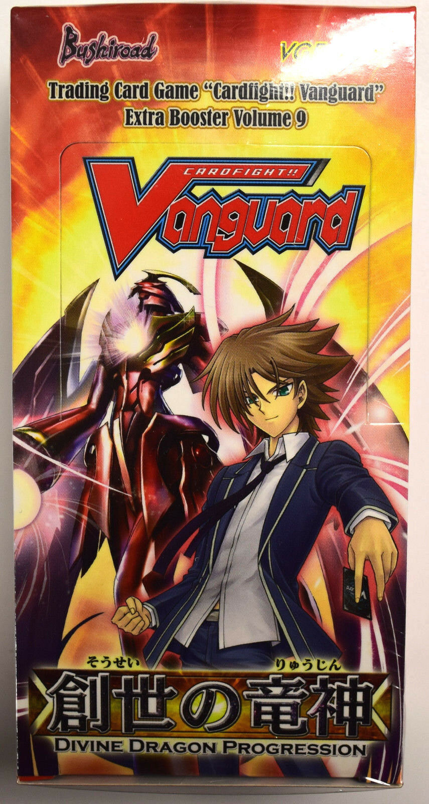 Cardfight Vanguard Divine Dragon Progression Factory Sealed Booster Box VGE-EB09