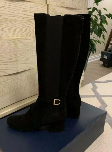 Cole Haan Avani Stretch Tall Boot Black
