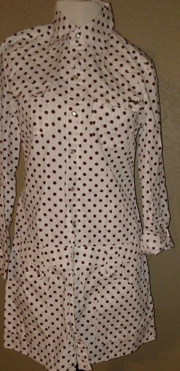 Le Tigre Waitress Style Mini Dress Adorable Women's Sz S