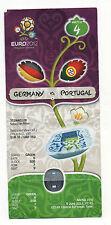 Orig.Ticket  EM POLEN / UKRAINE 2012   PORTUGAL - DEUTSCHLAND / Spiel 4  !!  TOP