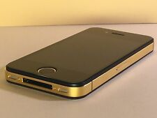 Apple iPhone 4S 64GB VIP Gold Schwarz OVP Neu iOS 9.3.5
