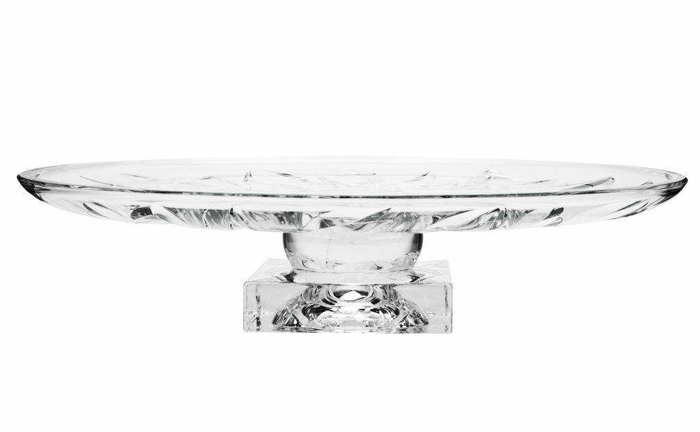 Aurum Crystal AU60073, 14  plaque FTD Flame, Décoration Pièce Centrale Cake Stand