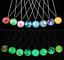 Full-Fluorescent-Rising-Moon-Pendant-Necklace-Glow-In-The-Dark-Luminous-Chain thumbnail 1